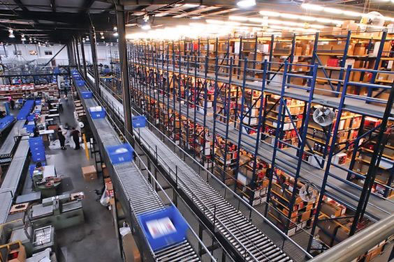 Semi-automatic and automatic solutions for warehouse